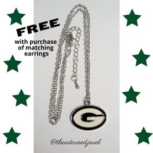 💚🏈GreenBay Packers Fashion Jewelry Necklace🏈💚